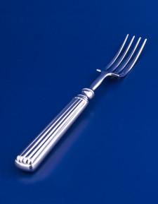Серебряная столовая вилка