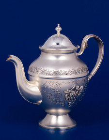 Серебряный чайник №17