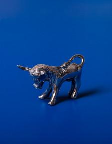 Серебряная декоративная фигурка