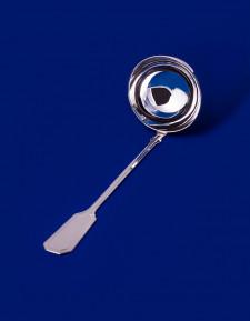 Серебряная ложка разливательная №15 малая
