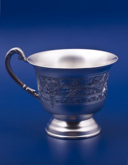 Серебряная чашка №17