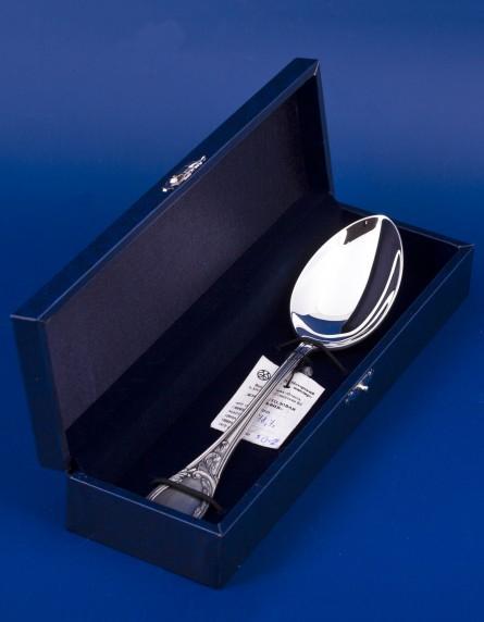 """Серебряная столовая ложка """"Сильвия"""" в подарочной упаковке"""