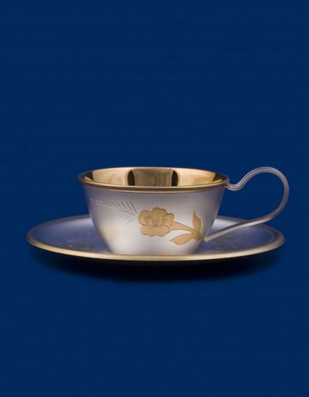 Чашка с блюдцем №6