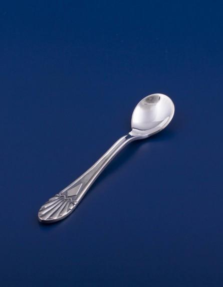 Серебряная ложечка для соли №1
