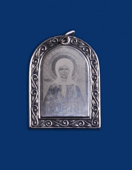 """Подвеска-икона №43 """"Матрона Московская"""""""