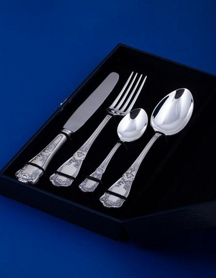 """Набор столового серебра на 1 персону """"Эдем"""" в подарочном футляре"""
