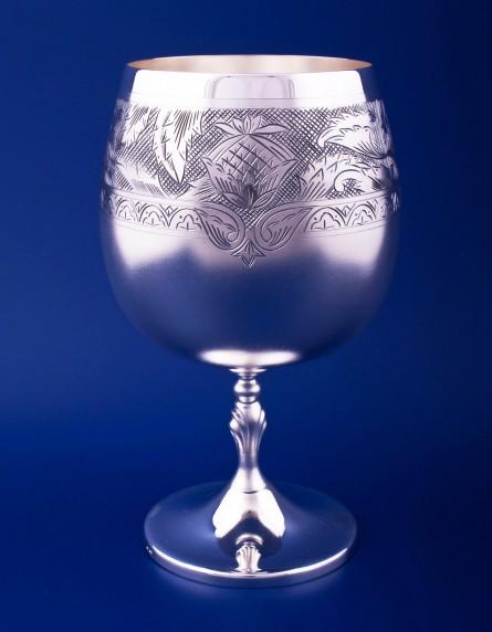 Серебрный бокал для коньяка №41