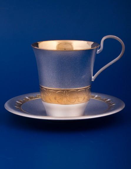 Чайный с блюдцем №11