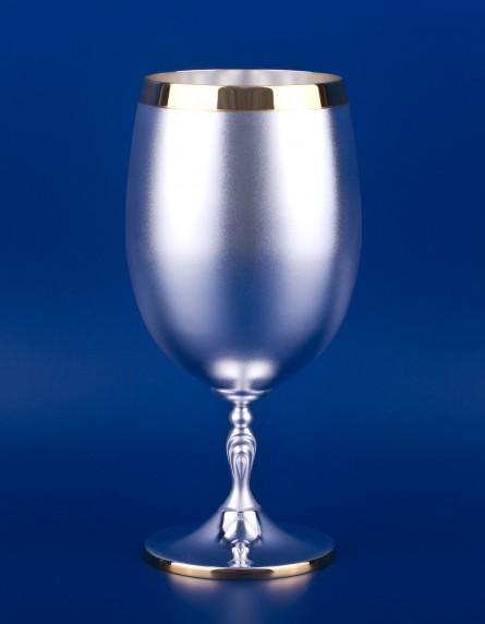 Серебряный бокал для пива №35
