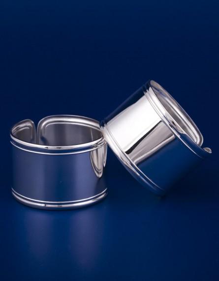 Серебряные кольца для салфеток №3